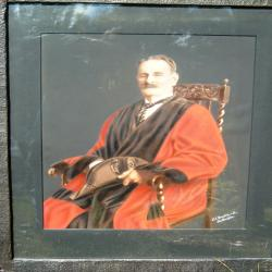 Portrait of Alderman Vokes in his robes by kind permission Mr Philip Cook, grear great grandson.