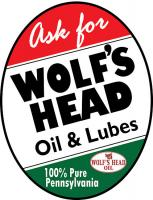 Sign Wolf's Head Oil Co